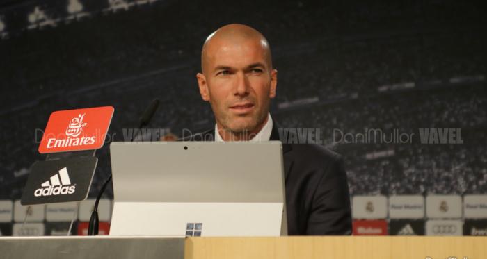 Zinedine Zidane. Fuente: Vavel. Fotógrafo. Dani Mullor