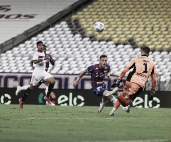 Fortaleza bate São Paulo e vai pela primeira vez na história às semis da Copa do Brasil