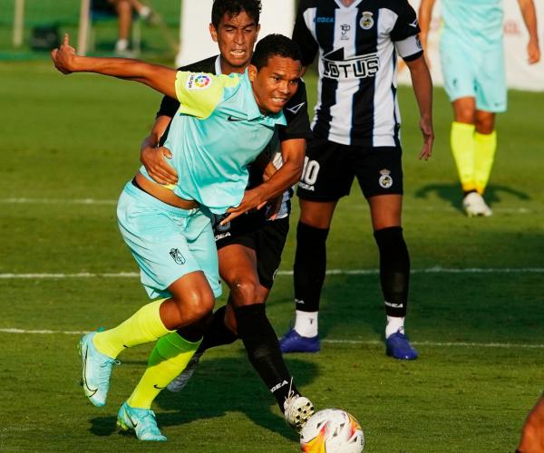 El Granada CF golea a la Balona para cerrar el stage en Marbella