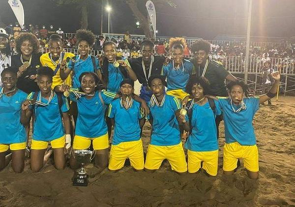 De Cabo Verde, Irlas é sucesso no Futebol de Areia Feminino