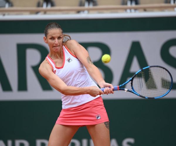 French Open: Karolina Pliskova overcomes Mayar Sherif in opening round