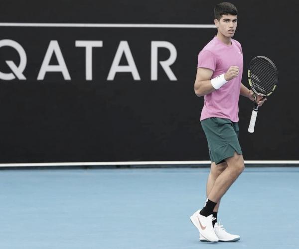 Alcaraz clasificó a su primer Grand Slam