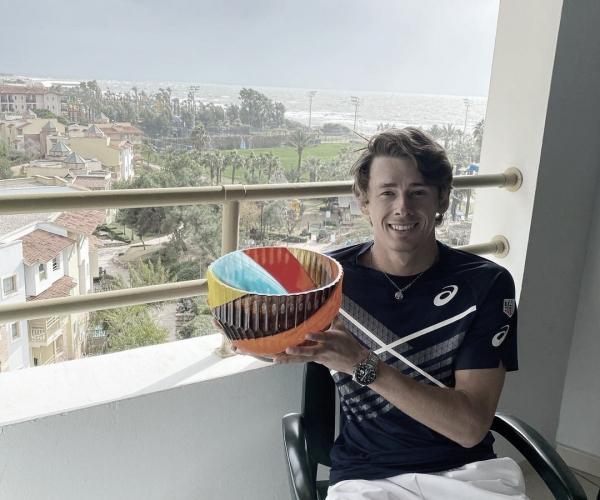 Alex De Miñaur, campeón del Antalya Open en ocho minutos