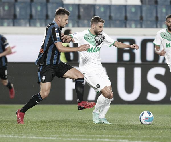 Com gols no primeiro tempo, Atalanta vence Sassuolo e encosta nos primeiros colocados do calcio