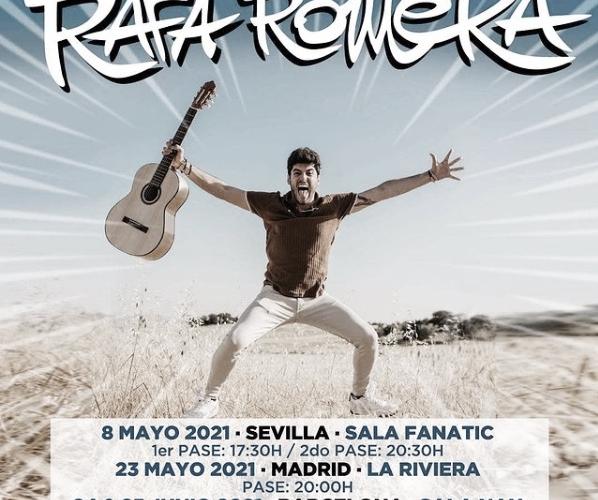 Rafa Romera pisa Sevilla el próximo 8 de mayo