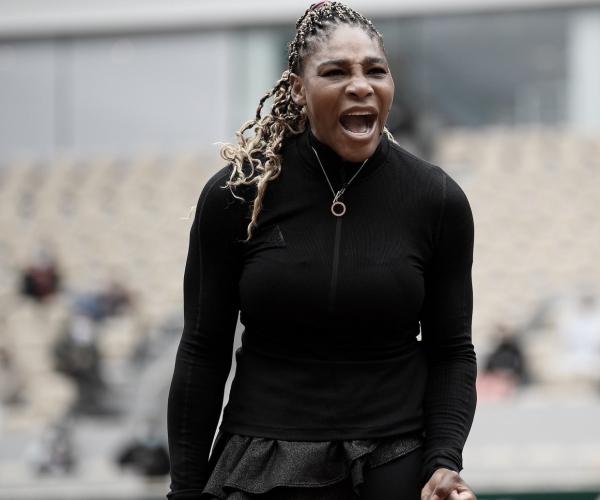 Serena Williams sufrió un set antes de arrasar
