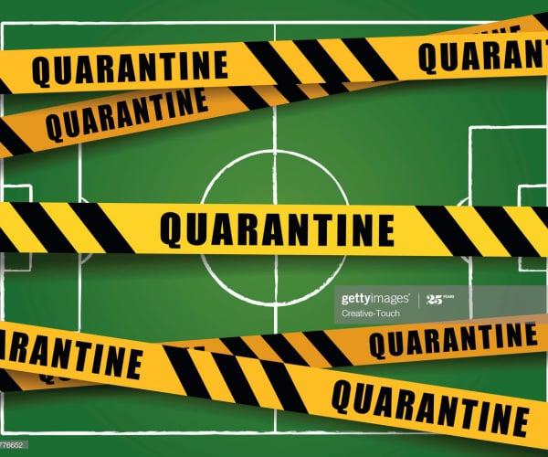 A pandemia no futebol internacional