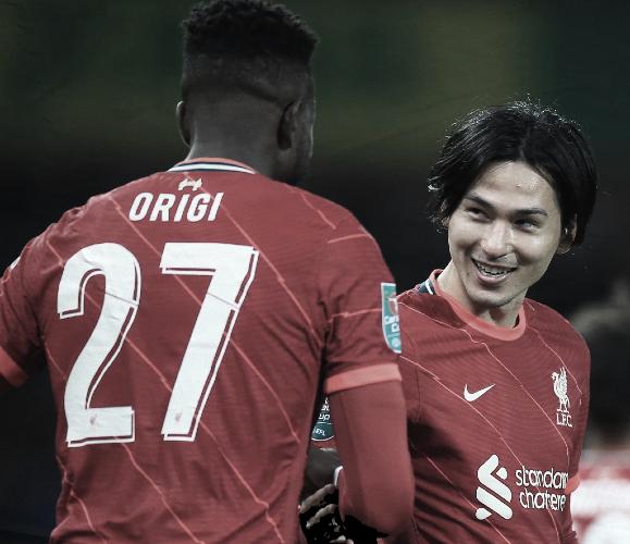 Un joven Liverpool saborea el pase a octavos frente al Norwich