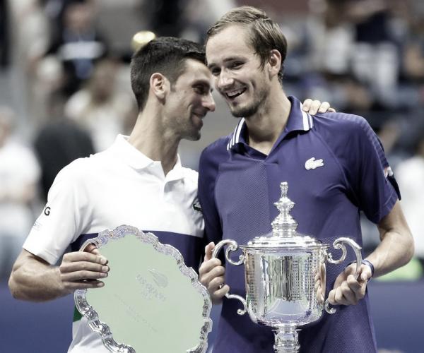 Em grande estilo, Medvedev desbanca Djokovic e fatura título do US Open 2021
