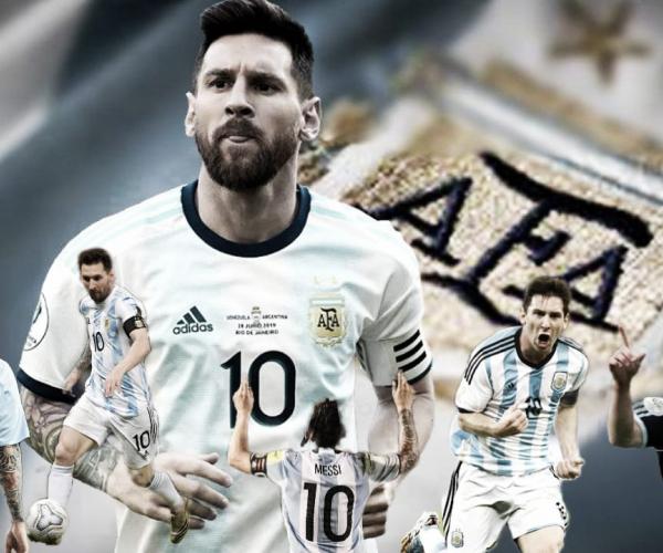 Lionel Messi igualó el ranking de un grande en la Selección