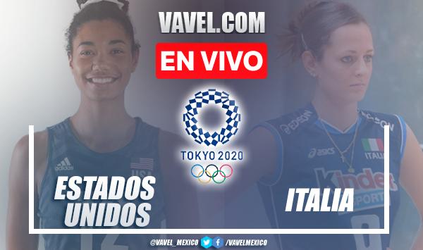 Estados Unidos vs Italia EN VIVO: ¿cómo ver transmisión TV online en Voleibol de Sala Femenil Juegos Olímpicos 2020?