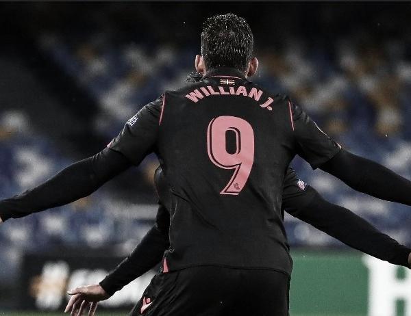 Willian José deja la Real Sociedad tras cuatro temporadas y media vistiendo la camiseta