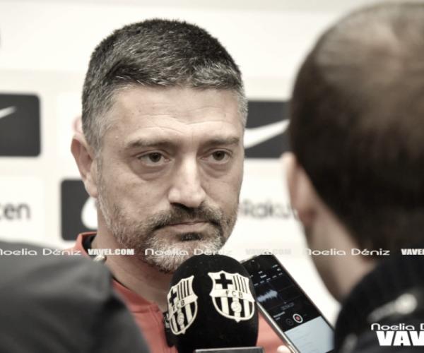 """García Pimienta: """"Tenemos un equipo muy competitivo"""""""