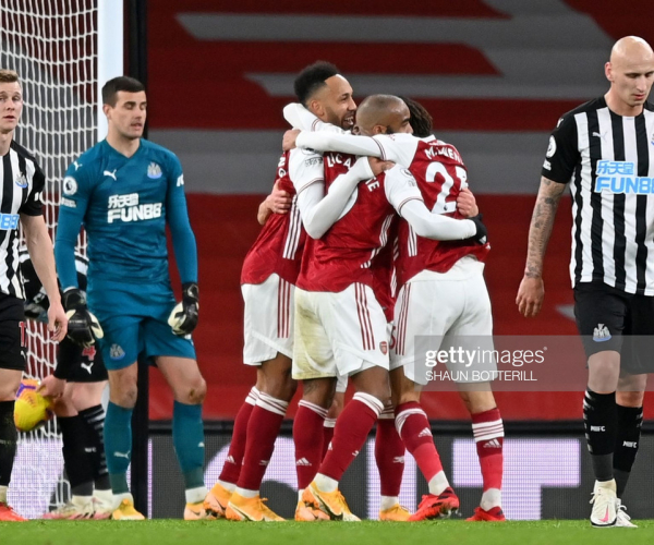 As it happened: Arsenal F.C 3-0 Newcastle United in the Premier League
