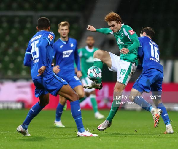 Werder Bremen 1-1 Hoffenheim: Honors even at the Wohninvest Weserstadion