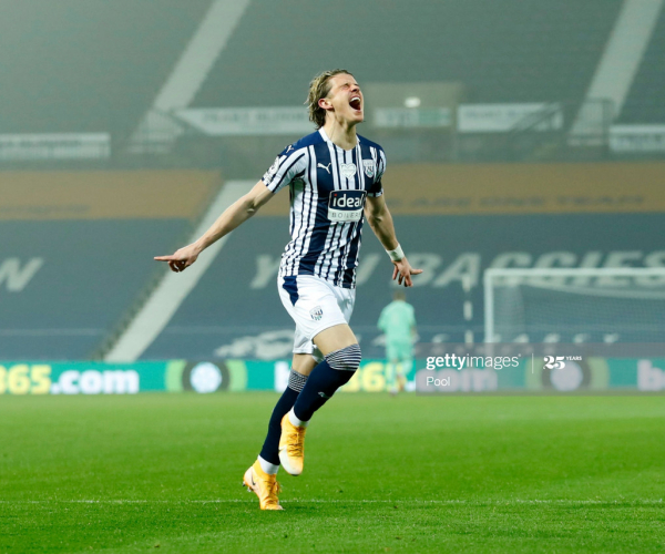 West Bromwich Albion 1-0 Sheffield United: Gallagher goal gives Baggies first win of the season