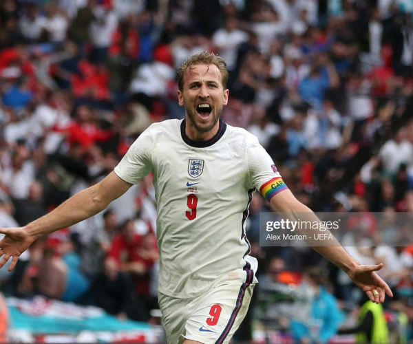 Goalscorer Kane still the fulcrum of England's attack