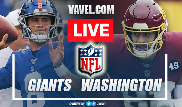 Highlights and Touchdowns: Giants 29-30 Washington in NFL Season