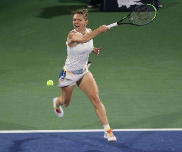 "WTA Prague: Simona Halep ""happy to be back"" on court"