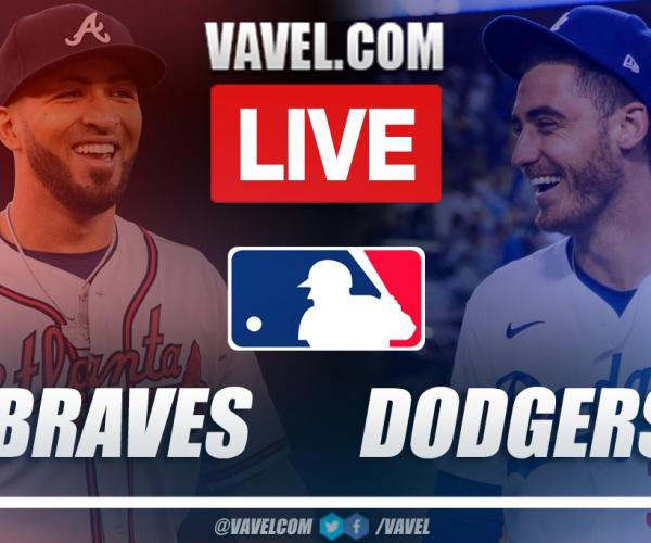 Highlights and Runs: Atlanta Braves 9-2 Los Angeles Dodgers in MLB Playoffs 2021