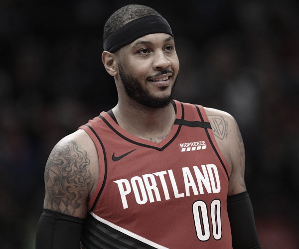 Carmelo Anthony Moves To 15th. In All-Time Scoring List