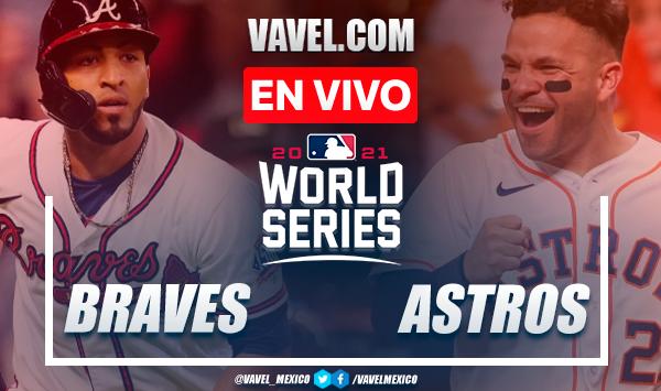 Resumen y carreras: Atlanta Braves 6-2 Houston Astros por Juego 1 de la Serie Mundial de la MLB 2021