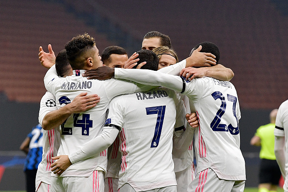 Real Madrid dominates Inter in UEFA Champions League