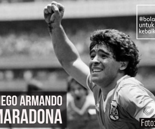Diego Maradona, antara Pahlawan dan Legenda Sepak Bola