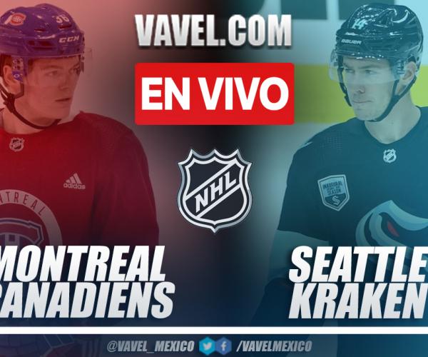Resumen y goles: Montreal Canadiens 1-5 Seattle Kraken en NHL 2021-22
