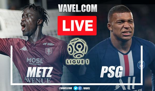 Metz x PSG AO VIVO: onde assistir ao jogo em tempo real na Ligue 1