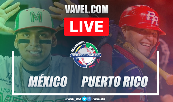 Highlights and scores: México 1 - 2 Puerto Rico Serie del Caribe 2021 Semifinals