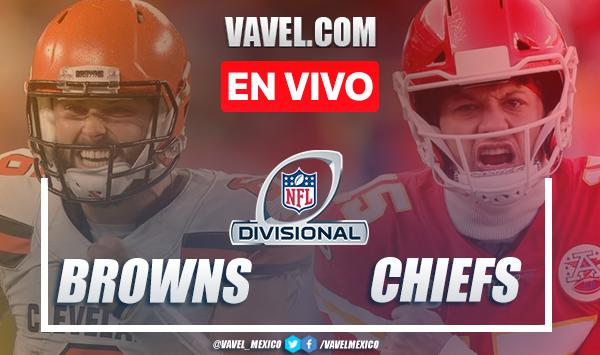 Resumen y anotaciones del Cleveland Browns 17-22 Kansas City Chiefs en Playoffs NFL 2021
