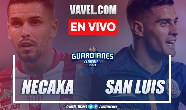 Gol y resumen del Necaxa 1-0 Atlético de San Luis en Liga MX 2021