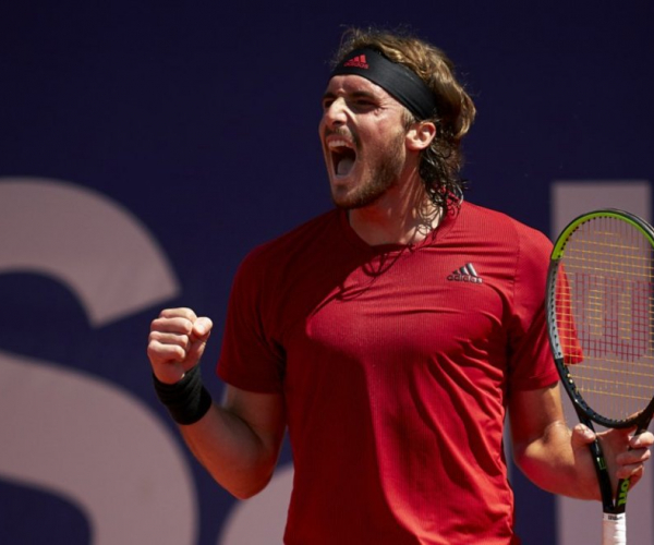 ATP Barcelona: Stefanos Tsitsipas continues roll with victory over Jannik Sinner