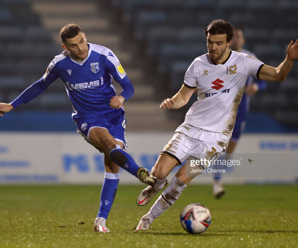 Gillingham 1-2 MK Dons: Dons win again as O'Keefe sees red