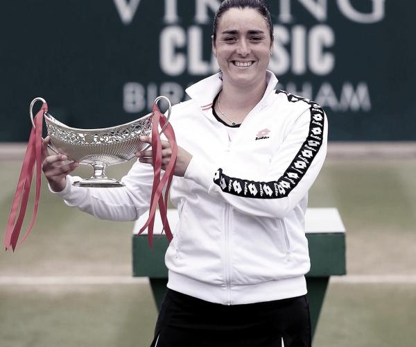 Jabeur, primera árabe que gana un título WTA