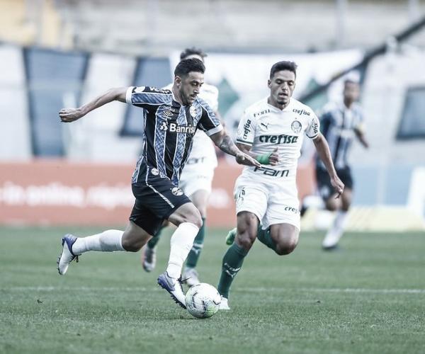 Finalistas na Copa do Brasil, Palmeiras e Grêmio se enfrentam pelo Brasileirão