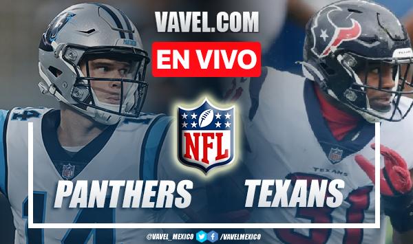 Carolina Panthers vs Houston Texans EN VIVO: ¿cómo ver transmisión TV online en NFL?