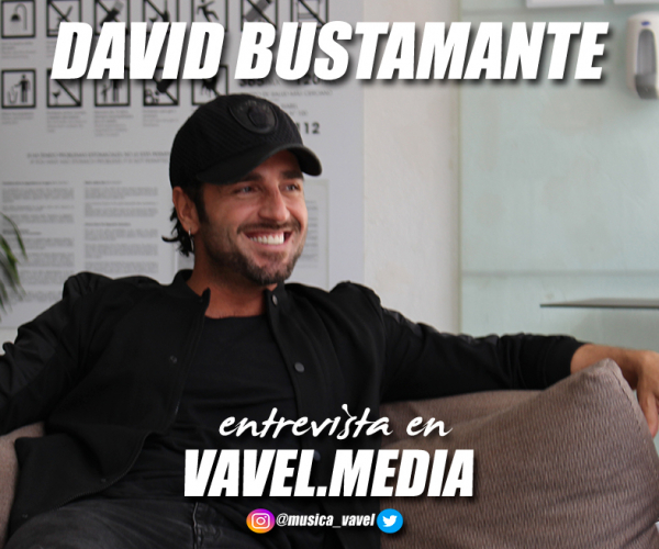 """Entrevista. David Bustamante: """"La clave del éxito es ser de verdad, no disfrazarte, porque al final una careta no aguanta veinte años"""""""