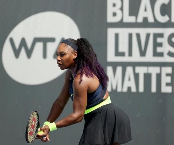WTA Lexington Day 2 wrapup: Serena, Venus set up showdown; Gauff advances, Stephens upset
