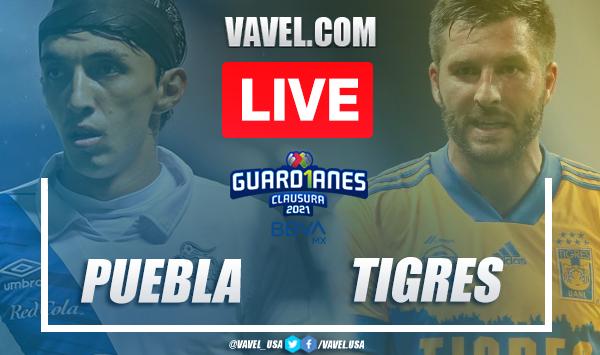 Goals and Highlights: Puebla 1-1 Tigres in Liga MX 2021