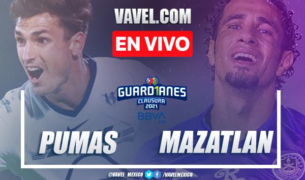 Resumen y goles: Pumas 3-0 Mazatlán en Liga MX Guard1anes 2021