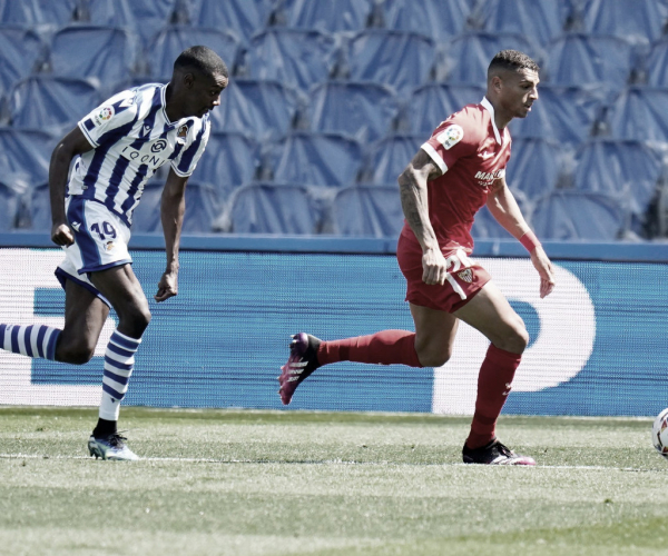 Goals and Highlights Real Sociedad vs Sevilla (0-0)