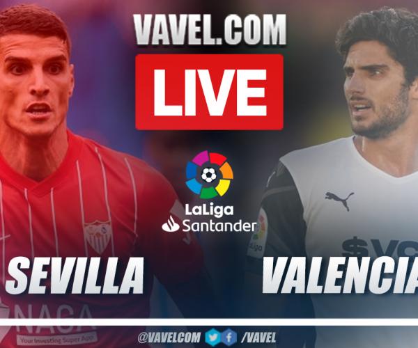 Sevilla vs Valencia: Live Stream, Score Updates and How to Watch LaLiga Match