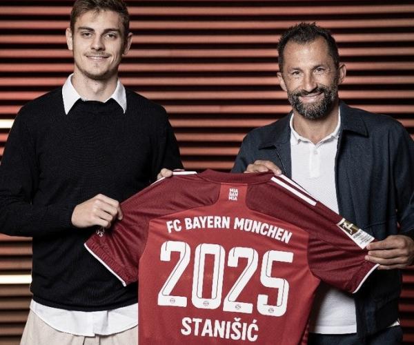 Josip Stanisic renueva con el Bayern hasta 2025
