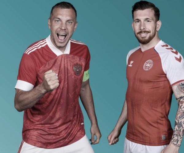 Highlights: Russia vs Denmark in Euro (1-4)