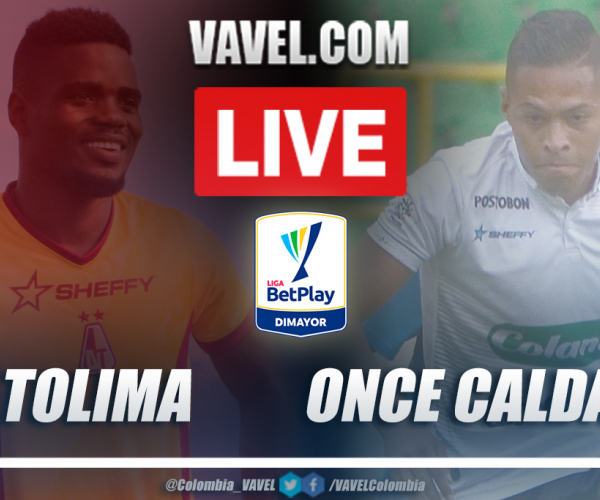 Resumen Tolima vs Once Caldas (1-1) por la fecha 1 de la Liga BetPlay 2021-I