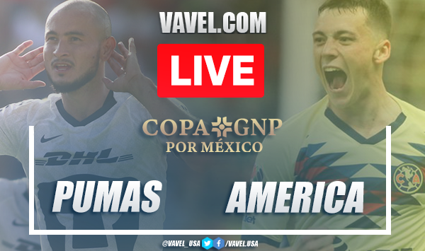 Copa GNP Pumas 0-0 América: Highlights and solomonic tie in C.U.
