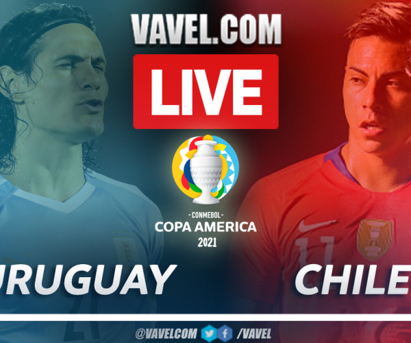 Goals and Highlights: Uruguay 1-1 Chile in American Cup 2021