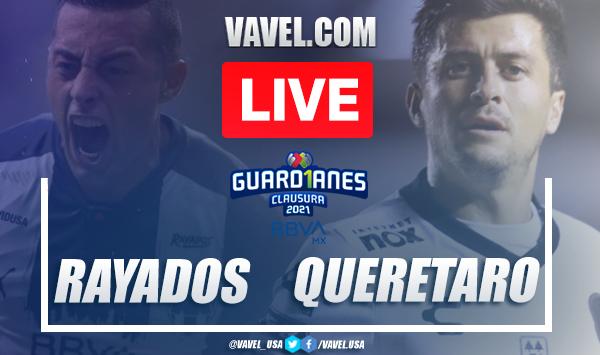 Goals and Highlights: Rayados Monterrey 2-1 Queretaro in Liga MX 2021